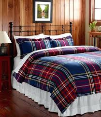 plaid flannel duvet cover king furniture amazing applied to your house buffalo red inside covers with