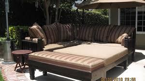 fancy custom outdoor furniture with sunbrella fabric window covers