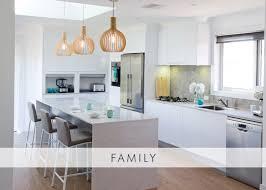 Family Kitchen Design Simple Design