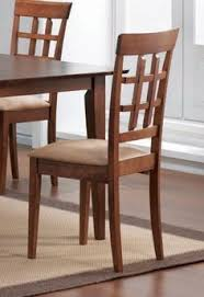 dining chair with wheat back design set of 2 in walnut coaster by dining chair setdining room