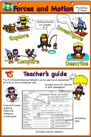Forces and Motion Interactive Notebook | Worksheets, Students and ...