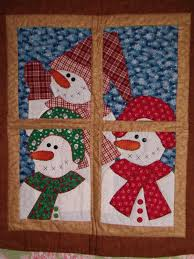 8 Snowman Quilt Patterns | Pearls, Magazines and Holidays & 8 Snowman Quilt Patterns Adamdwight.com