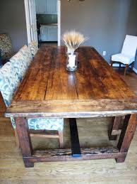 Kitchen Table Plan Farm Style Dining Tables For Sale Cheap Unpolished Vintage Farm