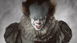 stephen king s it trailer fhm bill skarsgard as it pennywise the dancing clown bob gray