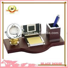 desk desktop personalized key crystal desk pen holder clock desk pen holders desk set pen