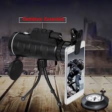 <b>High</b> Power <b>40X60 HD</b> Monocular Telescope Shimmer Lll Night ...