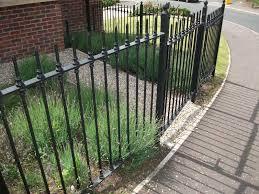 black garden railings lisburn