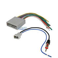 honda civic stereo harness ebay Honda Dashboard Wires at Honda Factory Wire Harness