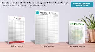 Graph Paper Pads 5 X 7 Printpps Com