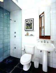 bathroom stand up shower small bathroom stand shower kits for small spaces small white tiled remodeled bathroom stand up shower