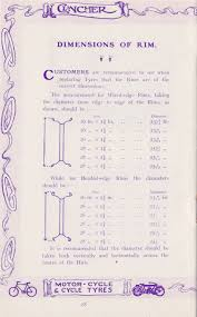 Bicycle Tyre Sizes Conversion Chart The Online Bicycle Museum