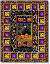 267 best Halloween Quilts images on Pinterest | Fall quilts ... & Whos Watching Panel Quilt Kit. Halloween ... Adamdwight.com