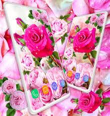 Live Pink Rose Wallpaper Hd 3d