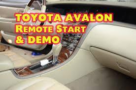 toyota avalon remote start installation dei idatalink bypass toyota avalon remote start installation dei idatalink bypass by autotoys com