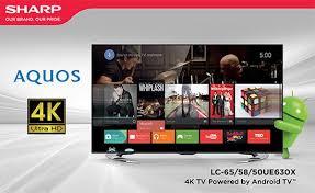 sharp 4k tv. sharp-4k-tv-powered-by-android-tv-ue630x sharp 4k tv h