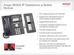 avaya 9630g ip deskphone w on module