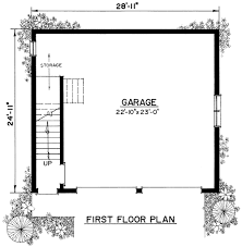 Garage  Small Two Car Garage 2 Story 2 Car Garage Plans Separate Size Of A Two Car Garage