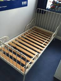 IKEA Minnen extendable metal bed frame in North West Leicestershire ...