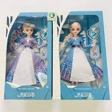 Ảnh thật] Búp bê Elsa 5D Nữ Hoàng Băng Giá Ha ng Đe p Cơ To