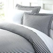 pinstripe duvet cover white grey pinstripes king set vertical stripes bedding blue stripe and curtains ticking