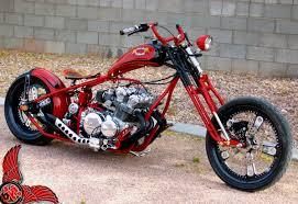 old school cb750 chopper by envy cycle bikermetric