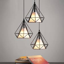 modern cage pendant light lamp metal iron chandeliers hanging ceiling fixtures 1 of 11free