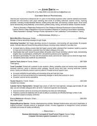 resume templates to print for costumer service customer service a good customer service resume