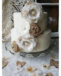 Spectacular Deals On Wedding Cake Topper Ideasburlap And Lace Cake