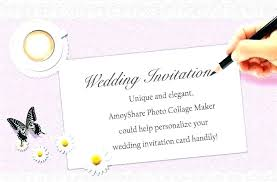 Free Invitations Maker Online Wedding Invitation Templates Maker Opusv Co
