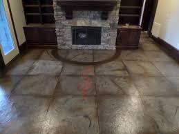 Decorative Concrete Overlay Interior Indoor Concrete Flooring Greenville Sc Unique