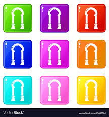 Archway Graphic Designs Archway Decor Icons Set 9 Color Collection