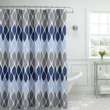 blue textured shower curtain with 12