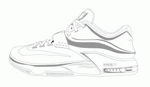 Small Picture Jordan Shoe Coloring Pages For Kids And For Adults Coloring Home