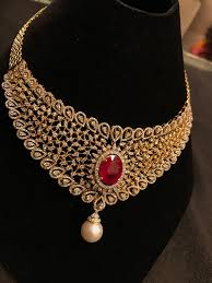 Designer Jewellery Ruby Bridal Necklace Bridal Jewelry Sets Bridal Necklace