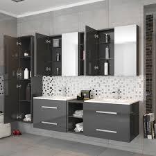 double basin vanity units for bathroom. sonix 1500 wall hung double basin vanity unit grey - 174693 units for bathroom t