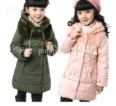 toddlers winter coat girls winter coat jacket new long coat thickened cotton toddler girl down jacket boys down coat from