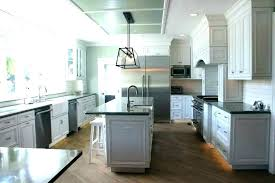 steel gray granite countertops with white cabinets and grey s