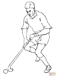 Small Picture Playing Field Hockey coloring page Free Printable Coloring Pages