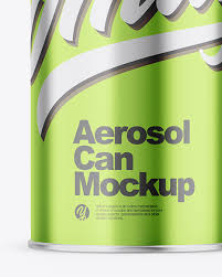 Spray color can be changed. Download Spray Can Mockup Photoshop Psd Mock Ups