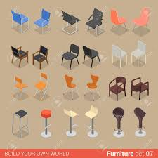 creative furniture icons set flat design. Creative Furniture Icons Set Flat Design. Beautiful  Design Office .