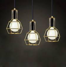 american vintage edison pendant lamps chrome bulb holder dining room in modern light pendants idea 13