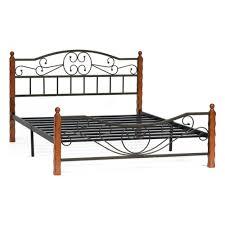 Металлическая <b>двуспальная кровать</b> TETCHAIR AMOR, 160Х200 ...