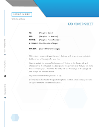 Cover Sheet Design Fax Covers Office Com