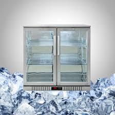 stainless steel undercounter fridge