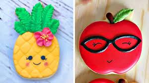 Top 5 Amazing Cookies Art Decorating Compilation 2018 Birthday