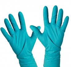 <b>Перчатки нитриловые Manual</b> XN809 сине-зеленые 25пар/упак M