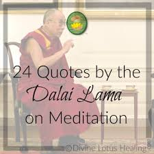 Meditation Quotes Delectable 48 Quotes By The Dalai Lama On Meditation Divine Lotus Healing
