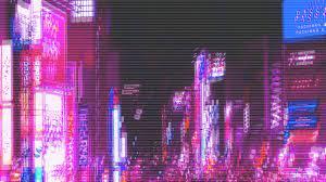 Purple Neon Aesthetic HD Desktop ...