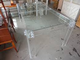 Clear Perspex Dining Table