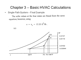 chapter 3 basic hvac calculations